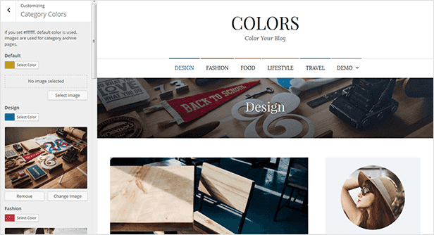 Colors - Simple Blog & Magazine WordPress Theme - 19  Download Colors – Simple Blog & Magazine WordPress Theme nulled colors customization category colors