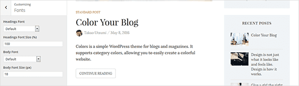 Colors - Simple Blog & Magazine WordPress Theme - 9  Download Colors – Simple Blog & Magazine WordPress Theme nulled colors customization fonts