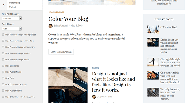Colors - Simple Blog & Magazine WordPress Theme - 18  Download Colors – Simple Blog & Magazine WordPress Theme nulled colors customization post