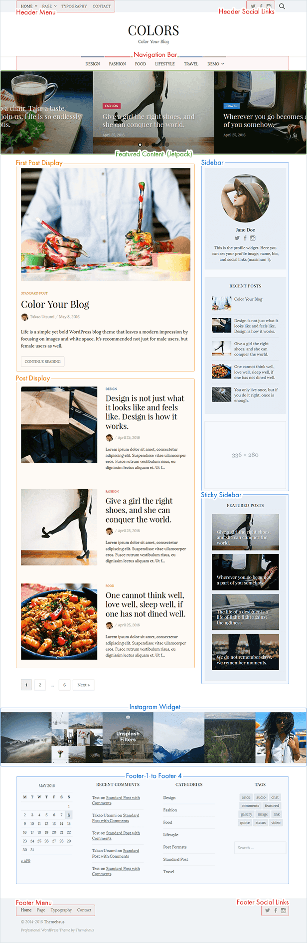 Colors - Simple Blog & Magazine WordPress Theme - 3  Download Colors – Simple Blog & Magazine WordPress Theme nulled colors overview