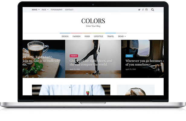 Colors - Simple Blog & Magazine WordPress Theme - 1  Download Colors – Simple Blog & Magazine WordPress Theme nulled colors pc