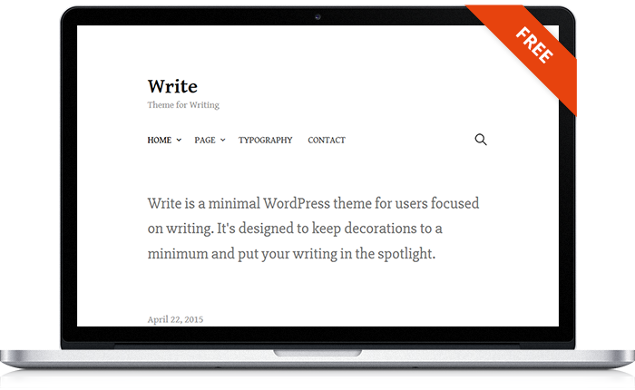 Write WordPress Theme