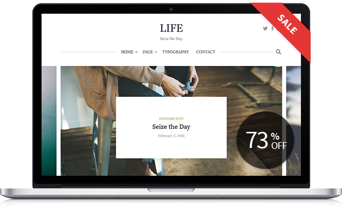 Life WordPress Theme